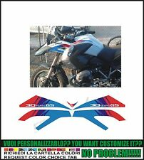 kit adesivi stickers compatibili r 1200 gs 30 anniversary edition pack