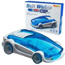 NEW SALT WATER FUEL CELL POWERED CAR SCIENCE SET BUILD IT YOURSELF KIT PW