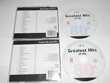 2 CD Greatest Hits of the 80s 30. tracks opus Bobby McFerrin paul young... 10/15