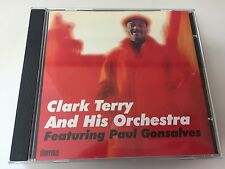 Clark Terry and His Orchestra Featuring Paul Gonsalves Clark Terry Audio CD