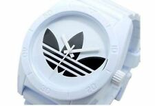ADIDAS UNISEX SANTIAGO WHITE SILVER WATCH  100% ORIGINAL