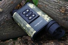 Night Vision IR Monocular Laser Rangefinder Hunting scope Distance Meter&Speed