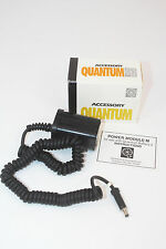 QUANTUM BATTERY 2 MODULE MM FOR METZ & HASSELBLAD NIB