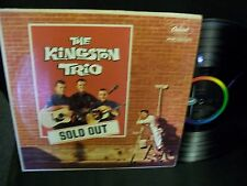 The Kingston Trio-Sold Out-LP-Capitol-T1352-VG+