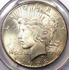 1928 Peace Silver Dollar $1 - PCGS MS64 - Rare Key Date 1928-P BU UNC Coin