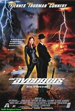 "MOVIE POSTER~The Avengers 1998 27x40"" Original Theater Sheet Ralph Fiennes New~1"