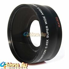 55mm 0.45x Wide Angle & Macro Conversion Lens For Canon Nikon Sony DSLR Lens