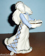 Lenox Nativity First Blessing FRUIT MARKET MAIDEN Figurine $168 New In Box