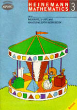 Heinemann Maths 3 Workbook Measure Shape & Handling Data Workbook (8 BOOKS):