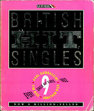 GUINNESS BOOK OF BRITISH HIT SINGLES 1952-1992 JOE TIM RICE PAUL GAMBACCINI 9TH