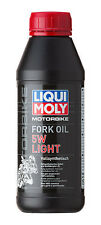 Olio forcelle Liqui Moly Sae 5W