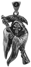 Pendant Necklace Grim Reaper Fashion Jewelry Collection