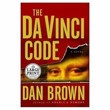 NEW - The Da Vinci Code (Large Print) by Brown, Dan