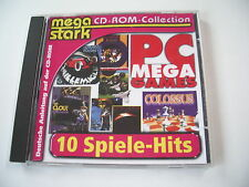 PC Mega Games 10 Volversionen  Der Clou, Fussball Kaiser, Colossus etc (PC)