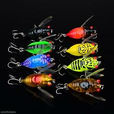 Cute Insect Cicada Shape Fishing Lures Bait Fishing Tool Aid Fishing Useful Hot