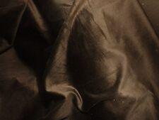 tissu  velours cotele epais extensible marron glace 100x140  cm