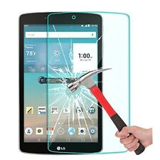 9H Premium Tempered Glass Screen Protector Film Guard For LG G Pad III 3 8.0''