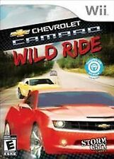 Wii Chevrolet Camaro: Wild Ride  *BRAND NEW. FACTORY SEALED* Chevy racing