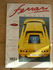 Ferrari World Magazine no.13 Zagato 348tb 166MM Testarossa Benuzzi + poster