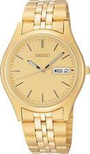 SEIKO SGF526 Men's Dress Gold Tone Quartz Date Watch