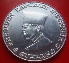Indonesia Sukarno 50 Sen 1962 high grade