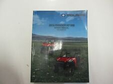 2013 Polaris Ranger XP 900 Service Repair Workshop Manual NEW Factory