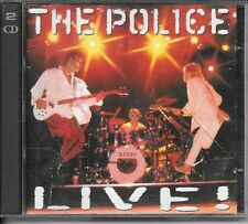 2 CD ALBUM LIVE 30 TITRES--THE POLICE--LIVE  !