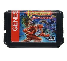 Castlevania Bloodlines Game Cartridge 16 bit Game Card Sega MegaDrive Genesis