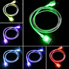 LED Multi Flash Glow Micro USB 3.0 Charger Cable for Samsung Galaxy S5 Note 3