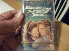 READERS DIGEST MUSIC-SENTIMENTAL SONGS THAT WILL LIVE FOREVER-CASSETTE