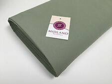 "Plain Poly Moss Crepe Georgette dress fabric medium weight 58"" Wide M420 Mtex"