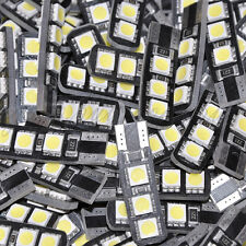 50 x White T10 194 168 W5W 6 SMD LED Bulb Vehicle Car Canbus Parking Side Light