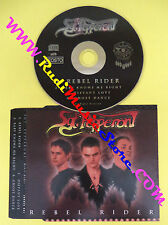 CD Singolo SGT PEPPERONI Rebel Rider LOUDER 001 RARE ROCK no lp mc vhs(S13)
