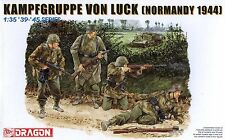 Dragon 1/35 6155 WWII German Kampfgruppe Von Luck (Normandy 1044) (4 Figures)