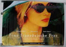 DS8105 - GEROLLT 84x120 cm EINE FRANZÖSISCHE FRAU Emmanuelle Beart