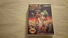 Trouble Shooter CUSTOM SEGA GENESIS CASE (NO GAME)