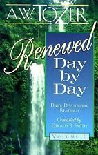 Renewed Day by Day: A Daily Devotional, Tozer, A. W., Excellent Book