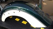 96 97 98 99 vulcan 1500 vn 1500 REAR FENDER GREEN CLASSIC SOME SCRATHES USED NJ