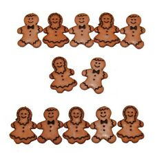 Jesse James Buttons ~ Dress It Up ~ Gingerbread People 1186 ~ Sewing ~ Crafts
