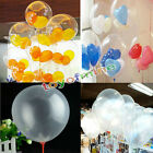 Wholesale 10/20/50 Transparent Latex Balloons Birthday Wedding Party Decor 10