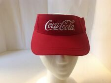 Coca Cola Red Embroidered Visor live Positively Golf Baseball Outdoors 6 Inside