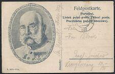 Reich 1915 Polish FieldpostCard sent