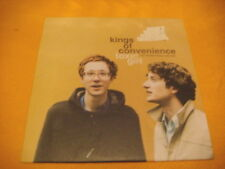 Cardsleeve Single CD KINGS OF CONVENIENCE Toxic Girl PROMO 1TR'01 folk leftfield
