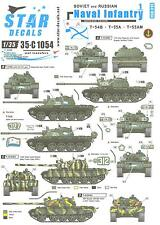 Star Decals 1/35 SOVIET & RUSSIAN NAVAL INFANTRY AFVs Part 1 Heavy Tanks