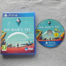 NO MAN'S SKY PLAYSTATION 4 PS4 V.G.C. FAST POST ( action/adventure game )
