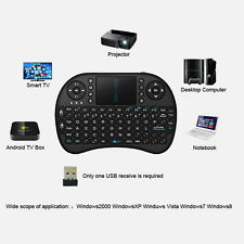 Mini Wireless Keyboard 2.4G with Touchpad Handheld Keyboard for PC Android TV CJ