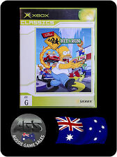 The Simpsons Hit and Run (XBOX, VGC, COMPLETE, FREE REGISTERED POST, OZ SELLER)