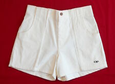VINTAGE SHORTS 90's Ocean Pacific CORDUROY Cords SURF Skate Board OP Ivory NOS