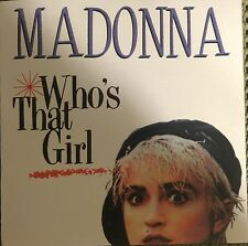 MADONNA PROMO CD WHO'S THAT GIRL 8 REMIXES not REBEL HEART GHOSTTOWN