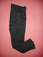 Ben Sherman Siouxsie Zip-Fly - Ladies Black Denim Jeans - Waist 34 Leg 30 - K958